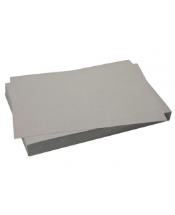 A4 Karton, 100 Ark. Stålgrå