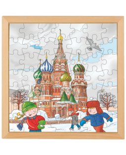 Træpuslespil, Moskva