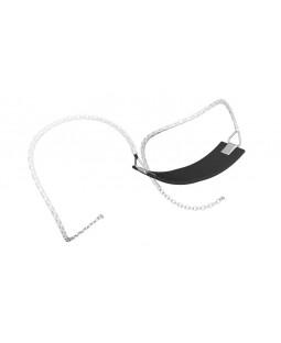 Bæltegynge med plastovertrukket kæde