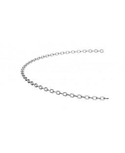 6mm galvaniseret kæde, pr.m