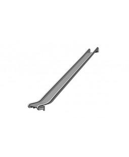 Rustfri rutschebane H=225-250 cm