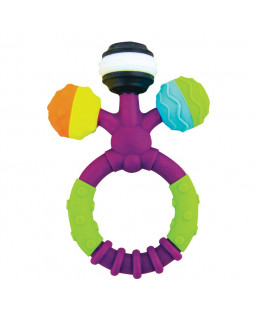 Prongy ball teether