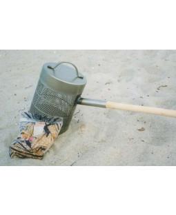 Popcornsgryde m. træskaft