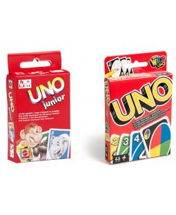 Sæt med UNO Classic og UNO Junior