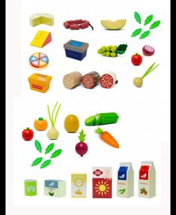 PAKKE: Veganermad + Tapas/oste/pølsesæt