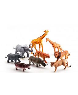 Vilde dyr i pose