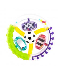 Wonder wheel ring rattle